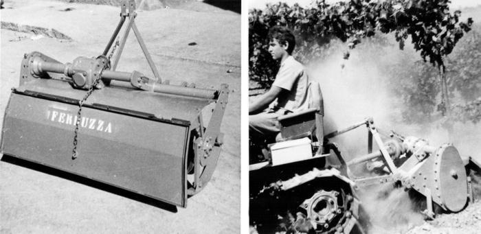 Zappatrice a rotore unico (anno 1966)