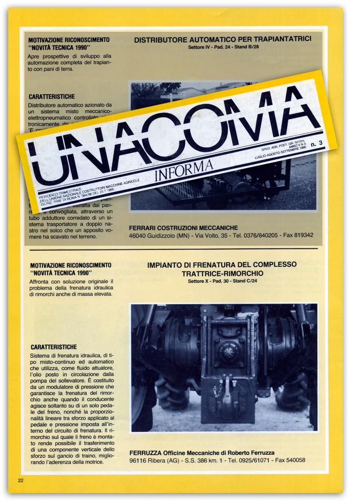 Unacoma - Luglio Agosto Settembre 1990