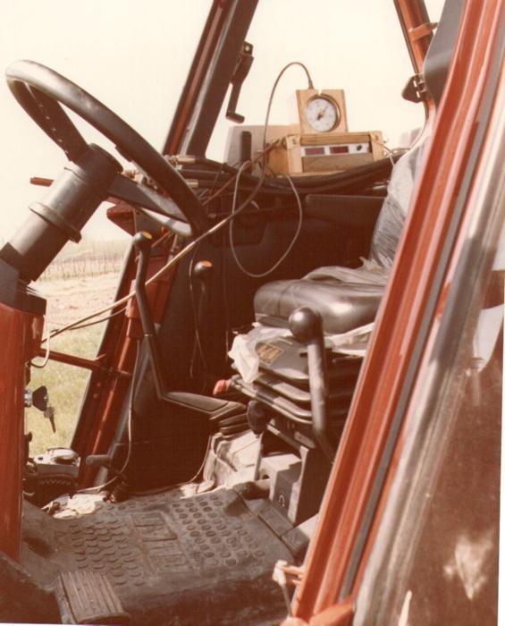 Strumentazione di prova - Cadriano (BO) anno 1985