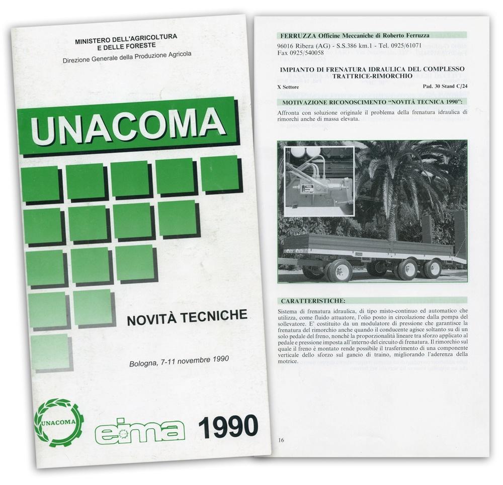 Unacoma - Novembre 1990