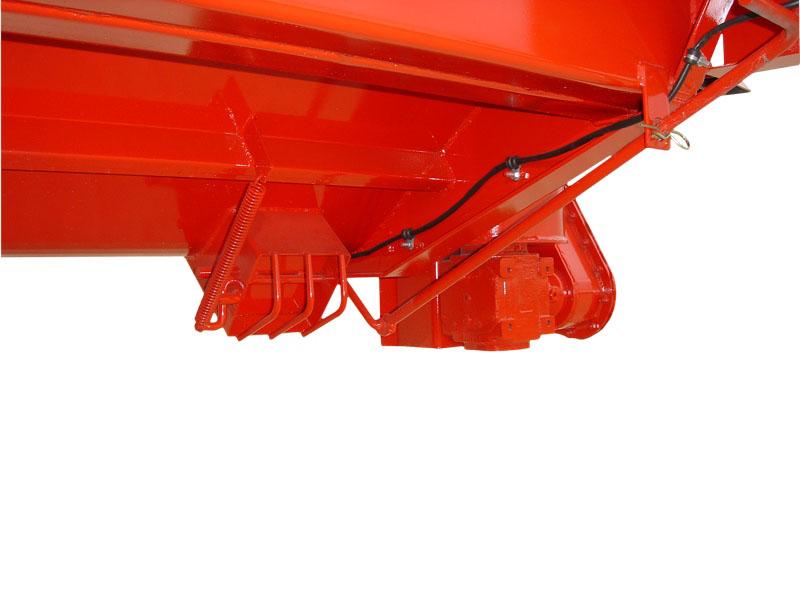 LG 120 - 120P Particolare curca inferiore + bocchetta di scarico