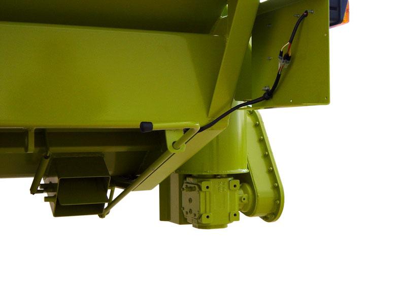 LG 140 P Particolare curva inferiore + bocchetta di scarico